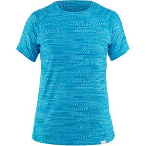 NRS H2Core Silkweight Lyhythihainen Paita Naiset, sininen sininen