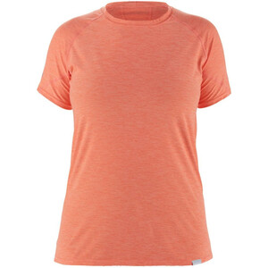 NRS H2Core Silkweight Koszulka z krótkim rękawem Kobiety, pomarańczowy pomarańczowy