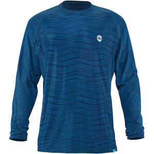 NRS H2Core Silkweight Camiseta Manga Larga Hombre, azul azul