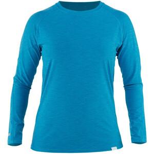 NRS H2Core Silkweight T-shirt à manches longues Femme, bleu bleu