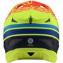 Troy Lee Designs D3 Fiberlite Helmet orange/gul