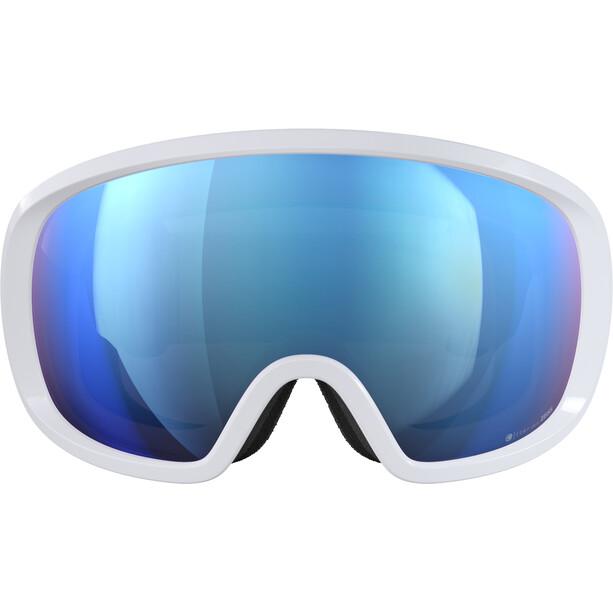 POC Fovea Clarity Comp + Goggles hydrogen white/spektris blue