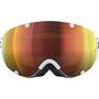 POC Lobes Clarity Goggles hydrogen white/spektris orange