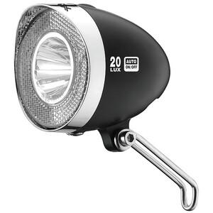XLC LED Retro Frontlicht inkl. Reflektor black black