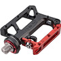 Xpedo TRVS Lockster Pedale black/red