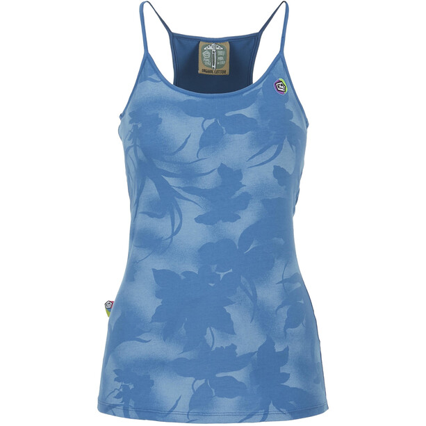E9 Tuli Tank Top Damen cobalt blue