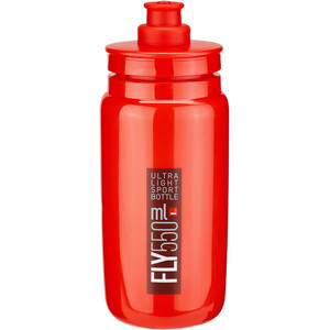 Elite Fly Trinkflasche 550ml red/bordeaux logo red/bordeaux logo