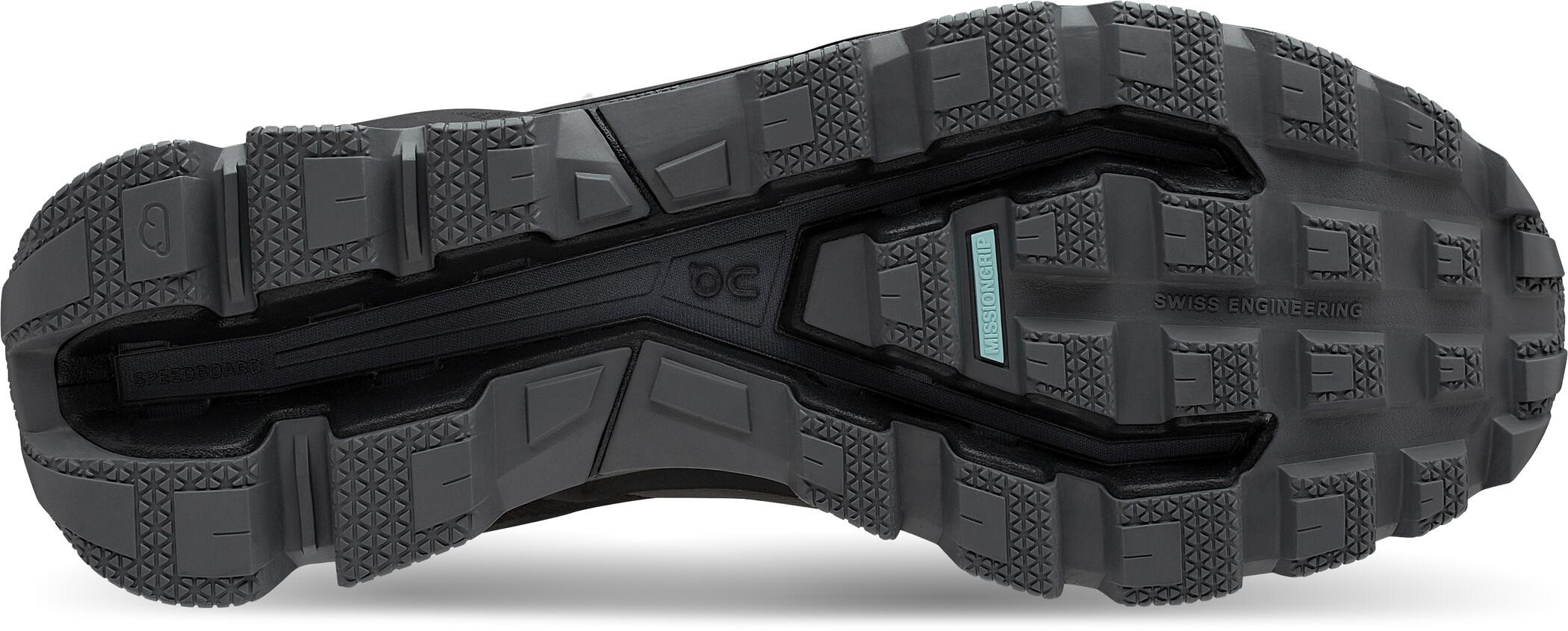 On Cloudventure Waterproof Shoes Women blackgraphite