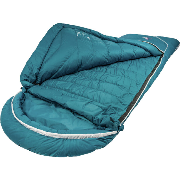 Grüezi-Bag Biopod DownWool Subzero Comfort Sac de couchage, autumn blue
