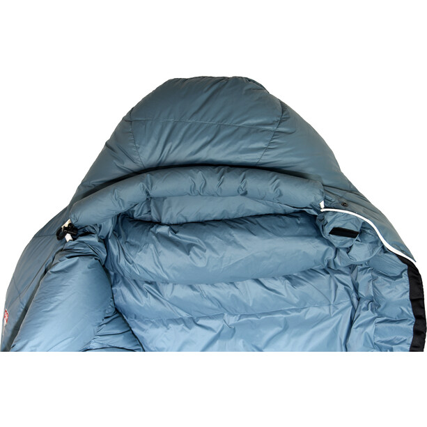 Grüezi-Bag Biopod Down Hybrid Ice Cold 180 Schlafsack platin grey