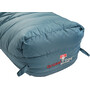 Grüezi-Bag Biopod Down Hybrid Ice Cold 190 Sac de couchage, platin grey