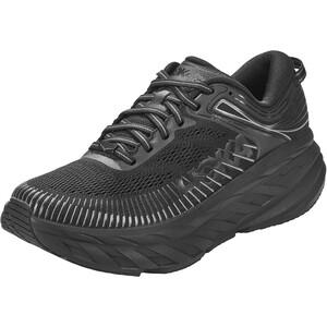 Hoka One One Bondi 7 Running Shoes Women black/black black/black