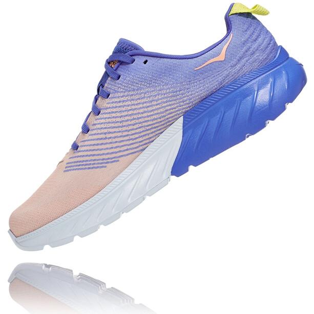 Hoka One One Mach 3 Schuhe Damen amparo blue/salmon