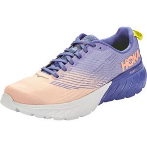 Hoka One One Mach 3 Shoes Women amparo blue/salmon amparo blue/salmon