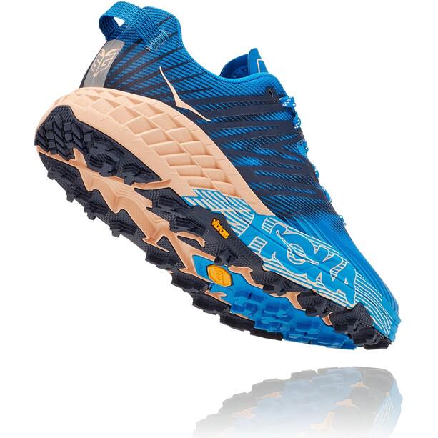 Hoka One One Speedgoat 4 Chaussures Femme, bleu