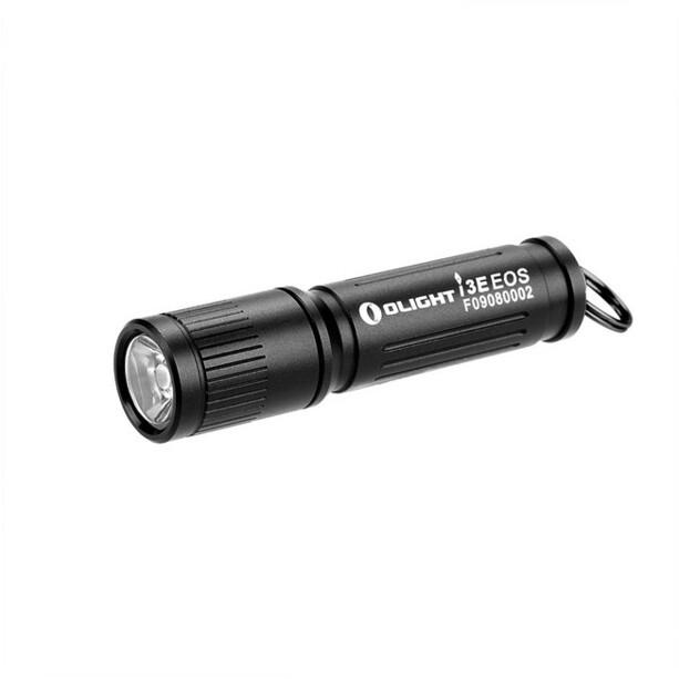 Olight I3E Aufladbare Schlüsselanhänger Taschenlampe black