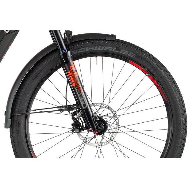 HAIBIKE Sduro Trekking S 9.0 XT I500Wh 11-Gang Diamant black/titan/red matte