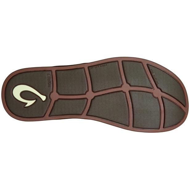 OluKai Alania Chaussures Homme, marron