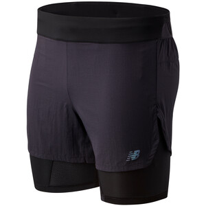 "New Balance Q Speed 5"" Shorts Herren black black"