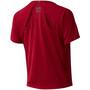 New Balance Q Speed Fuel Jacquard SS Shirt Women röd