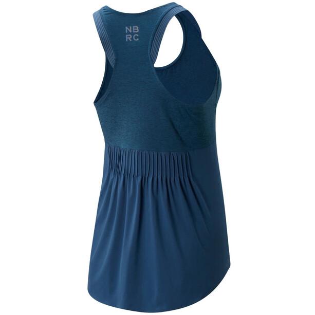 New Balance Q Speed Fuel Fashion Tank Top Damen blau