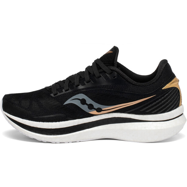 saucony Endorphin Speed Schuhe Damen black/gold