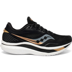 saucony Endorphin Speed Schuhe Damen black/gold black/gold