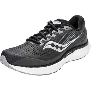 saucony Triumph 18 Shoes Men charcoal/white charcoal/white