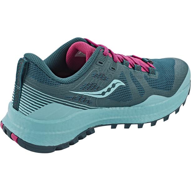 saucony Xodus 10 Schuhe Damen marine/fuchsia