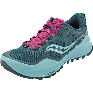 saucony Xodus 10 Schuhe Damen marine/fuchsia marine/fuchsia