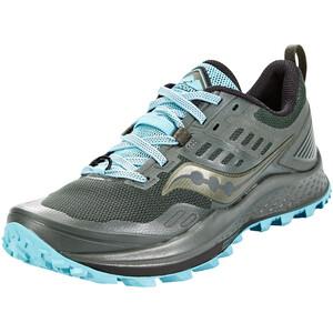 saucony Peregrine 10 Schuhe Damen pine/marine pine/marine