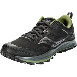 saucony Peregrine 10 GTX Schuhe Herren schwarz/grau schwarz/grau