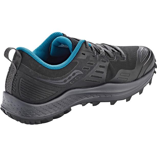 saucony Peregrine 10 GTX Schuhe Damen black/marine