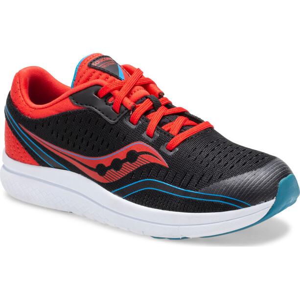 saucony S-Kinvara 11 Schuhe Jungen black/red/blue