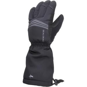 Sealskinz Waterproof Extreme Cold Weather Reflective Gauntlet Handschuhe schwarz schwarz