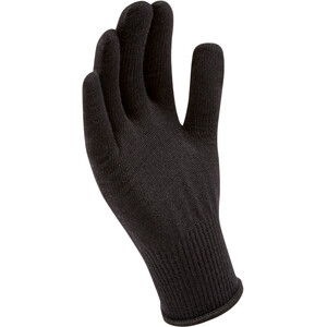 Sealskinz Solo Merino Liner Handschuhe schwarz schwarz