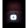 Sealskinz Waterproof Cold Weather LED Roll Cuff Beanie red