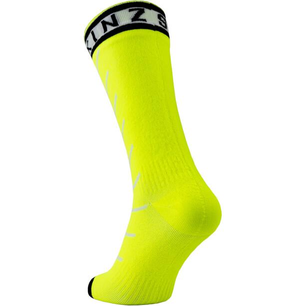 Sealskinz Waterproof Warm Weather Mid-Cut Socken mit Hydrostop gelb