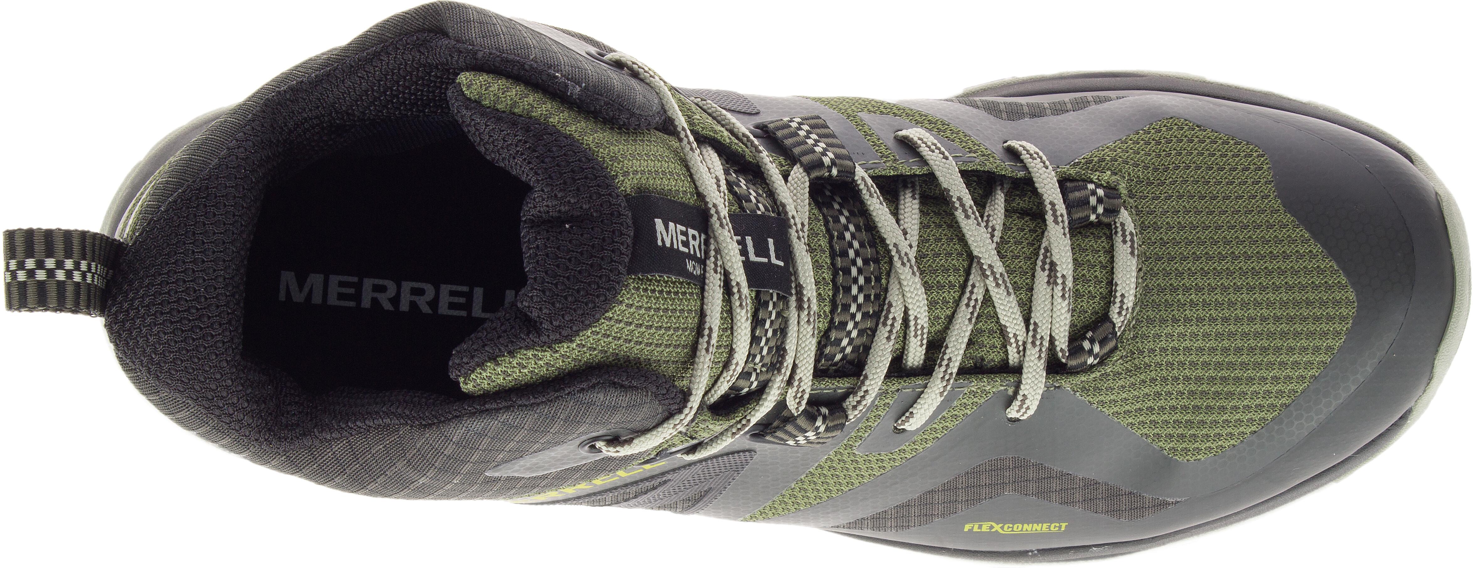 Merrell Pic Flex 3 Baskets Homme Gents non Hydrofuge Chaussures De Marche Lacets