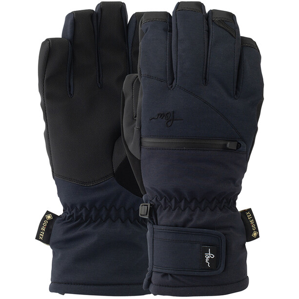 POW Cascadia GTX Short+Warm Handschuhe Damen black