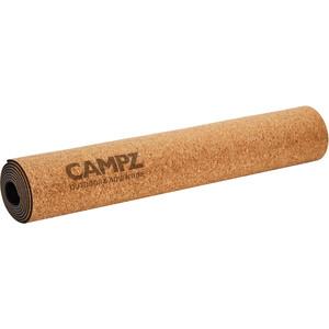CAMPZ Cork Yoga Matte L beige beige