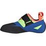 adidas Five Ten Kirigami K Climbing Shoes Kids glory blue/signal coral/signal green
