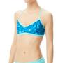 TYR Optic Trinity Bikini Top Women blå