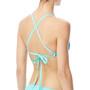 TYR Optic Pacific Tieback Bikini Top Damen teal/multi