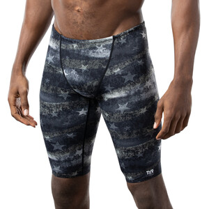 TYR American Dream All Over Jammer Herren black/grey black/grey