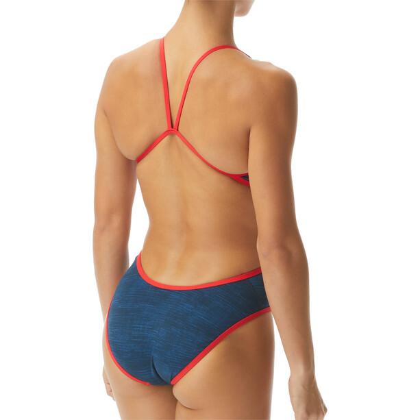 TYR Sandblasted Monofit Swimsuit Women blå