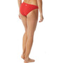 TYR Solid Classic Bikini Bottom Dam röd