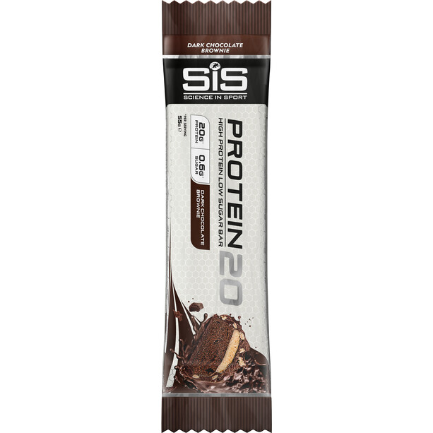 SiS Protein20 Riegel 12 x 55g Double Chocolate Brownie