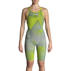arena R-EVO ONE Full Body Short Leg Open Back Anzug LTD Edition 2019 Damen green glass green glass