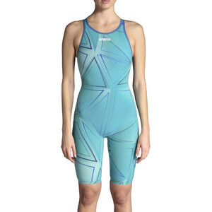 arena R-EVO ONE Full Body Short Leg Open Back Anzug LTD Edition 2019 Damen blue glass blue glass